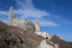 Castle Cachtice stock images