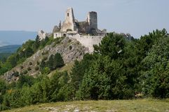 Castle Cachtice , Slovakia Royalty Free Stock Photography