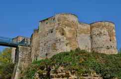 Castle of Caen in Normandie Royalty Free Stock Photo