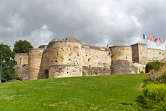 Castle in Caen, Normandy, France Royalty Free Stock Photo