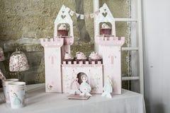 Castle cake Royalty Free Stock Image