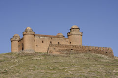 Castle of Calahorra in the province of Granada, Andalusia Royalty Free Stock Images