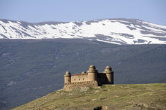 Castle of Calahorra in the province of Granada, Andalusia Royalty Free Stock Photo