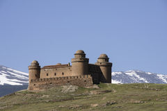 Castle of Calahorra in the province of Granada, Andalusia Stock Images