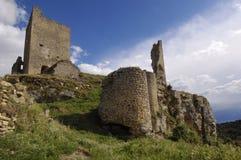 Castle of Calatañazor, Soria Province, Castilla y León,Spain. View of the Castle of Calatañazor, Soria Province, Castilla y León, Spain Royalty Free Stock Photos