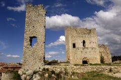 Castle of Calatañazor , Soria Province, Castilla y León, Spain. View of the Castle of Calatañazor, Soria Province, Castilla y León, Spain Royalty Free Stock Image