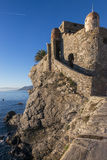 The castle of Camogli Stock Photo