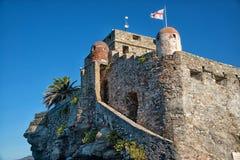Castle Camogli Stock Image