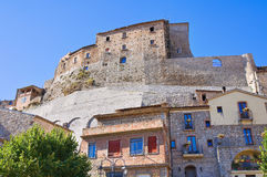 Castle of Cancellara. Basilicata. Italy. Royalty Free Stock Photo