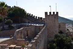 Castle of Capdepera Royalty Free Stock Photography