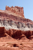 The Castle at Capitol Reef National Park Royalty Free Stock Photography