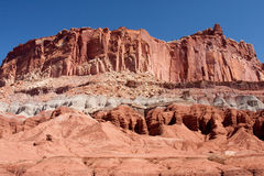 The Castle at Capitol Reef National Park Stock Images