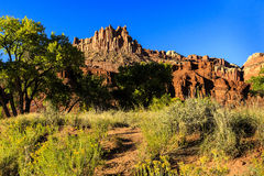 The Castle at Capitol Reef National Park Royalty Free Stock Image