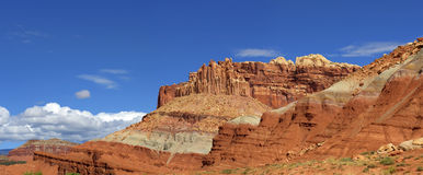 The Castle Capitol Reef National Park Royalty Free Stock Photos