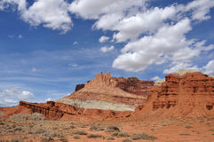 The Castle at Capitol Reef National Park. In Utah Royalty Free Stock Photography