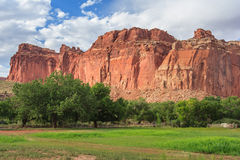 The Castle at Capitol Reef National Park Utah USA Stock Photography
