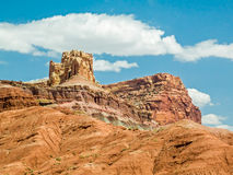 The Castle at Capitol Reef Royalty Free Stock Photography