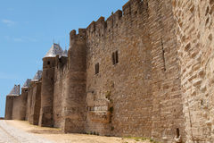 Castle of carcasonne Royalty Free Stock Photography