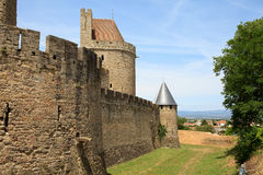 Castle of carcasonne Royalty Free Stock Image