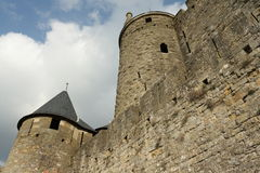 Castle of Carcassonne Stock Photos