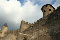 Castle of Carcassonne Royalty Free Stock Photos