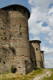 Castle at Carcassonne, France. Medieval fortified castel of Carcassonne, France Royalty Free Stock Photo
