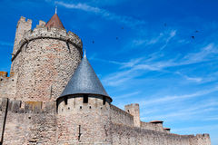 Castle Carcassonne, France Royalty Free Stock Image