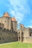 Castle of Carcassonne, Languedoc Roussillon Stock Photography