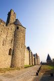 Castle of Carcassonne Royalty Free Stock Images