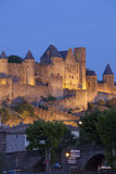 Castle of Carcassonne Stock Images