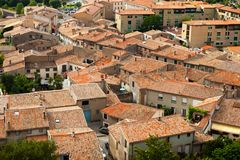 Castle of Carcassonne - south of France Stock Photos