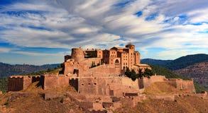 The castle of Cardona Stock Photos