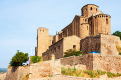 Castle of Cardona. Catalonia Stock Photography