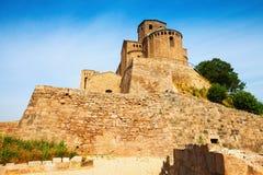 Castle of Cardona. Catalonia Royalty Free Stock Photography