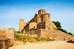 Castle of Cardona on sunny day Royalty Free Stock Photography