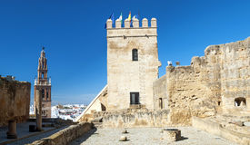 Castle  of  Carmona Stock Image