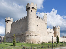 Castle of Cartagena,. The Castle of Cartagena, a town of Sasamon Olmillos of Burgos in Spain Royalty Free Stock Image