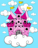 Castle Cartoon Fantasy Floating Royalty Free Stock Photo
