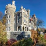 Castle Casa Loma το φθινόπωρο στο Τορόντο Στοκ Φωτογραφίες