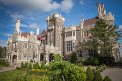 castle of Casa Loma in Toronto Stock Images