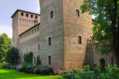 Castle of Castelguelfo. Noceto. Emilia-Romagna. Italy. Royalty Free Stock Photography