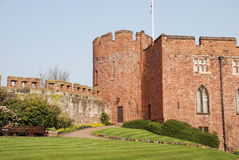 Castle with castellations Stock Photography