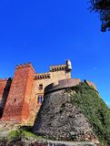 Castle in Castelldefels Stock Photo