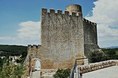 Castle of Castellet-Barcelona Royalty Free Stock Photography