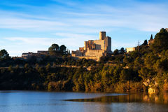 Castle of Castellet Royalty Free Stock Photography