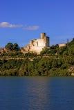 Castle of Castellet near Barcelona, Spain Stock Images