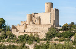 Castle of Castellet near Barcelona, Spain Stock Photo