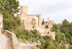 Castle of Castellet near Barcelona, Spain Royalty Free Stock Photo