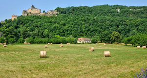 Castle of Castelnaud in Dordogne Stock Photography
