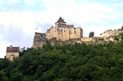 Castle of Castelnaud, France Stock Photography
